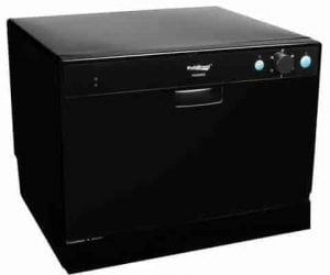 Koldfront portable countertop dishwasher