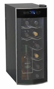 Avanti thermoelectric countertop wine cooler