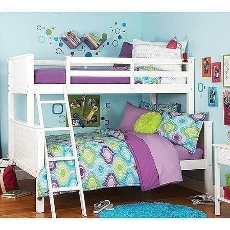 Your Zone Zzz Collection Twin-over-full Bunk Bed
