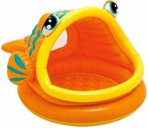 Intex Lazy Fish Inflatable Baby Pool