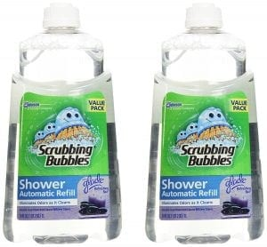 Scrubbing Bubbles Automatic Shower Cleaner Refill - Refreshing Spa