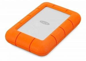 LaCie Rugged Mini 4 TB Portable Hard Drive