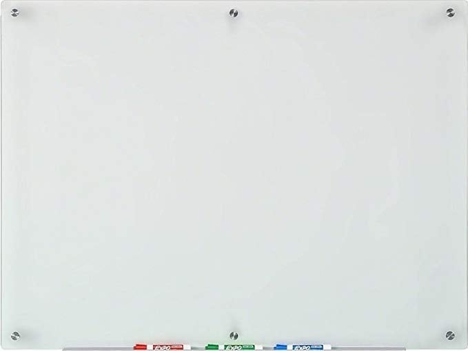 Audio-Visual Direct Frosted Glass Dry-Erase Board