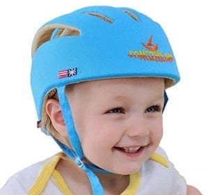Eyourhappy Toddler Safety Helmet Adjustable Harness Cap