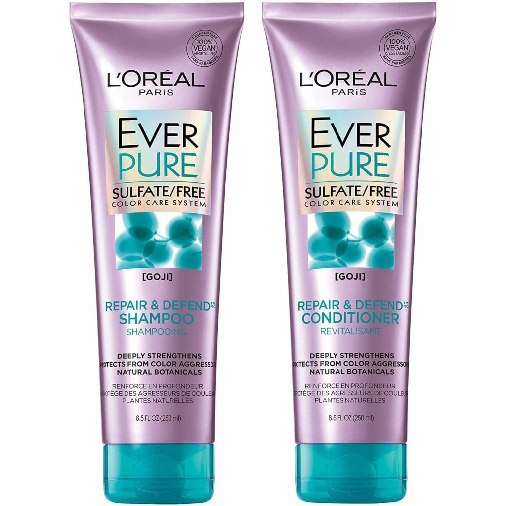 L'Oréal Paris Repair & Defend Conditioner & Sulfate-Free Shampoo