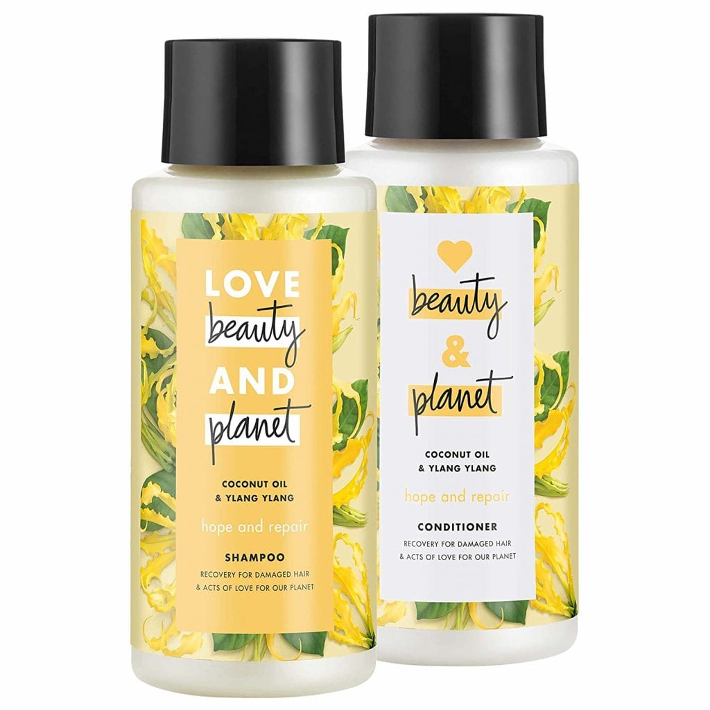 Love Beauty And Planet Damaged Hair Conditioner & Shampoo