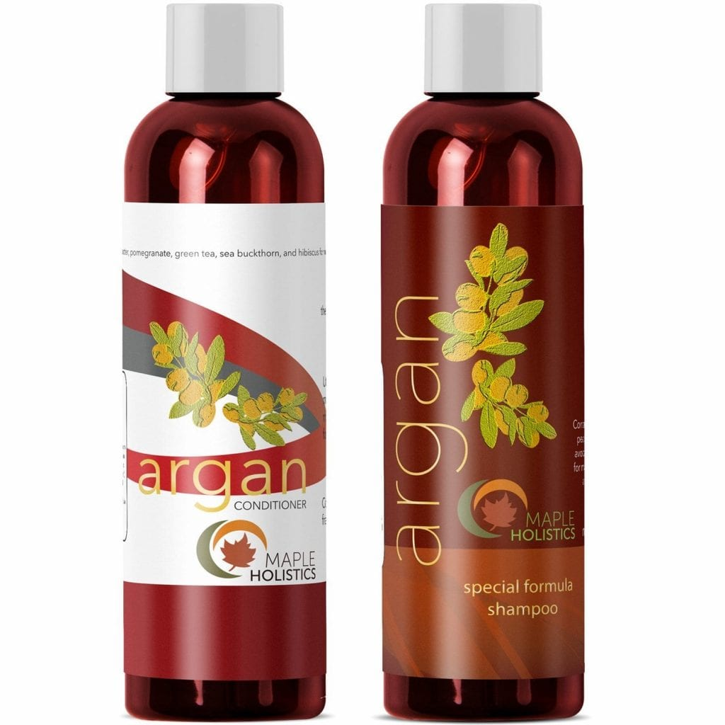 Maple Holistics Argan Oil Hair Conditioner & Shampoo